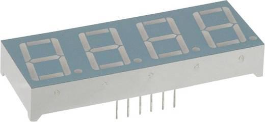 7-segments-display Rood 14.22 mm 2 V Aantal cijfers: 4 LUMEX