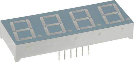7-segments-display Rood 14.22 mm 1.8 V Aantal cijfers: 4 LUMEX