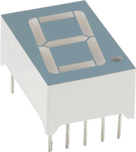 7-segments-display Groen 14.2 mm 2.2 V Aantal cijfers: 1 LUMEX