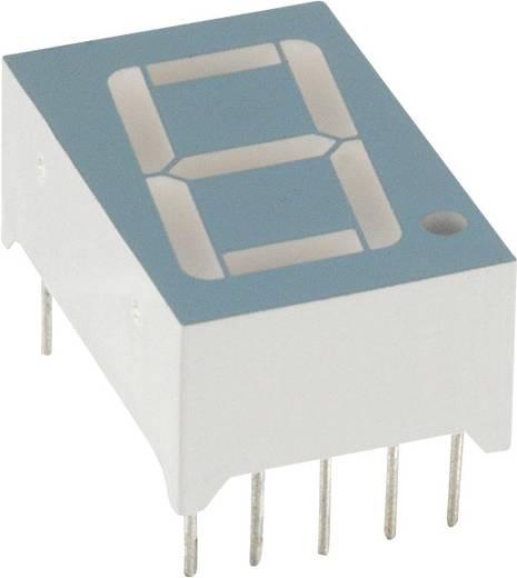 7-segments-display Rood 14.2 mm 1.8 V Aantal cijfers: 1 LUMEX