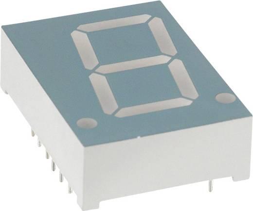 7-segments-display Geel 20.4 mm 2.1 V Aantal cijfers: 1 LUMEX