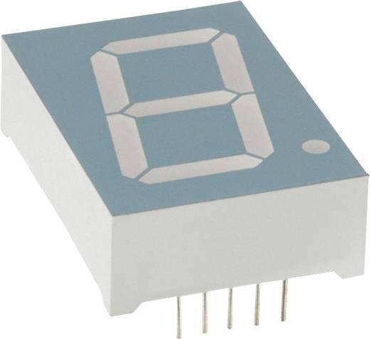 7-segments-display Rood 25.4 mm 4 V Aantal cijfers: 1 LUMEX