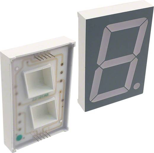 7-segments-display Groen 56.9 mm 8.4 V Aantal cijfers: 1 LUMEX