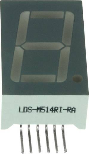7-segments-display Rood 14.2 mm 2 V Aantal cijfers: 1 LUMEX
