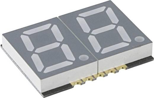 7-segments-display Groen 14.22 mm 2.25 V Aantal cijfers: 2 LUMEX