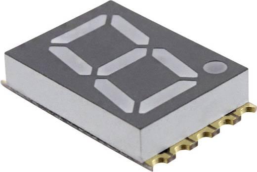 7-segments-display Rood 14.22 mm 1.95 V Aantal cijfers: 1 LUMEX