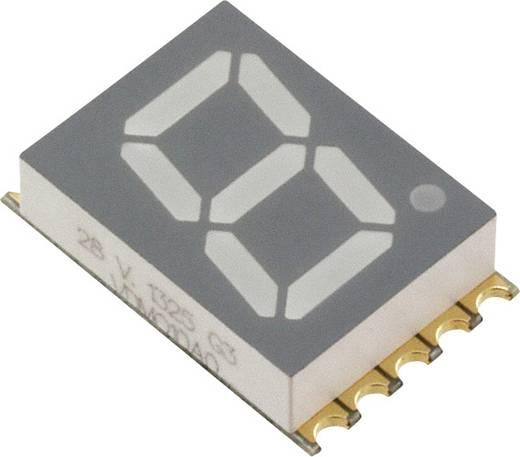 7-segments-display Oranje 10 mm 2 V Aantal cijfers: 1 Vishay