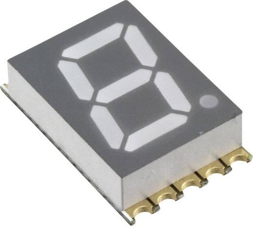 7-segments-display Geel 10 mm 2 V Aantal cijfers: 1 Vishay