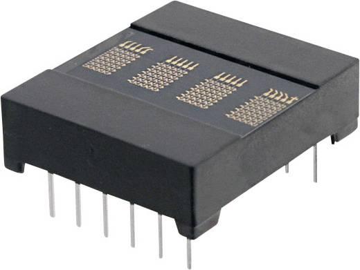 Dot-matrix display Rood 3.66 mm Aantal cijfers: 4 OSRAM