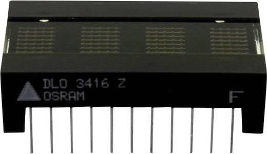 Dot-matrix display Rood 6.86 mm Aantal cijfers: 4 OSRAM