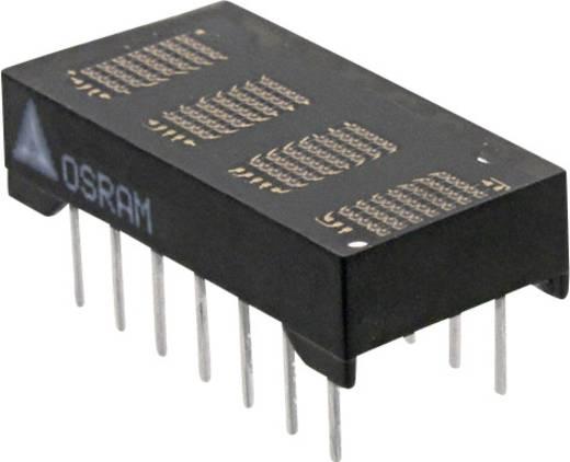 Dot-matrix display Rood 4.72 mm Aantal cijfers: 4 OSRAM