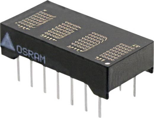 Dot-matrix display Geel 4.72 mm Aantal cijfers: 4 OSRAM
