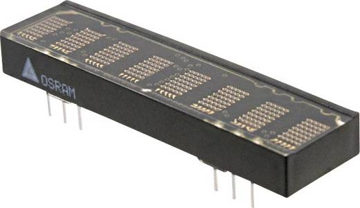 Dot-matrix display Rood 4.57 mm Aantal cijfers: 8 OSRAM