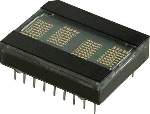 Dot-matrix display Groen 5.08 mm Aantal cijfers: 4 Broadcom