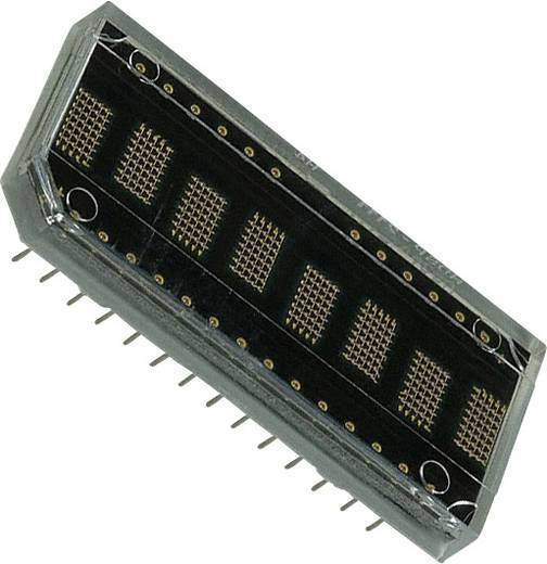 Dot-matrix display Geel 4.81 mm Aantal cijfers: 8 Broadcom