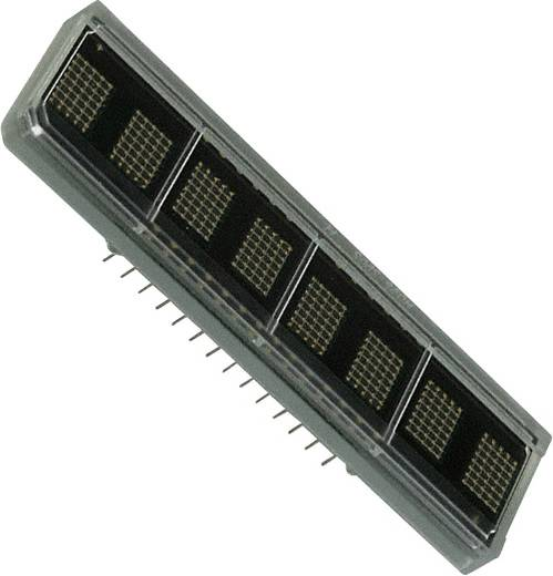Dot-matrix display Rood 6.96 mm Aantal cijfers: 8 Broadcom