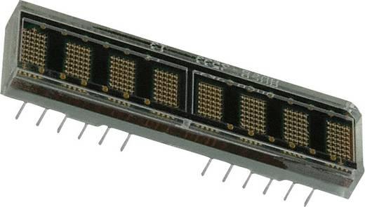 Dot-matrix display Rood 4.57 mm Aantal cijfers: 8 Broadcom