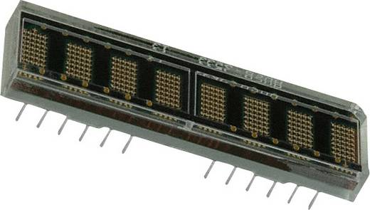 Dot-matrix display Groen 4.57 mm Aantal cijfers: 8 Broadcom