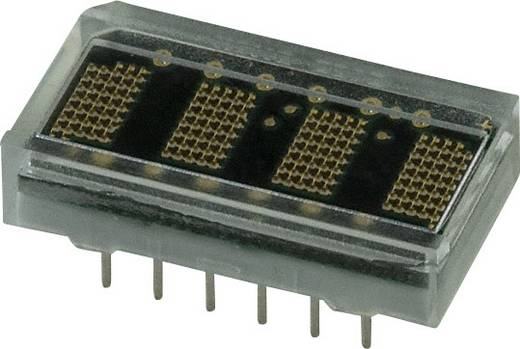Dot-matrix display Groen 4.57 mm Aantal cijfers: 4 Broadcom