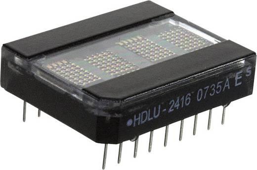 Dot-matrix display Rood 5.08 mm Aantal cijfers: 4 Broadcom