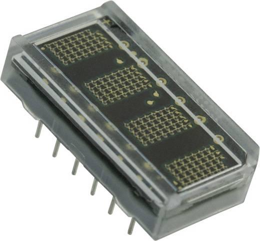 Dot-matrix display Groen 4.57 mm Aantal cijfers: 4 Broadcom