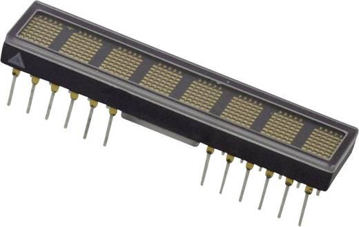 Dot-matrix display Geel 4.83 mm Aantal cijfers: 8 Broadcom
