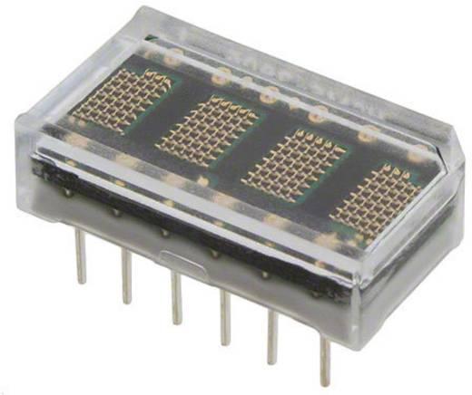 Dot-matrix display Rood 3.71 mm Aantal cijfers: 4 Broadcom