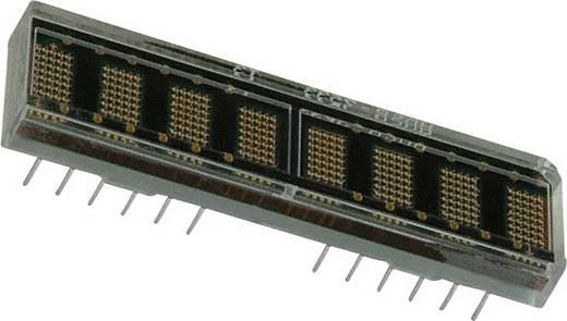 Dot-matrix display Oranje 4.57 mm Aantal cijfers: 8 Broadcom