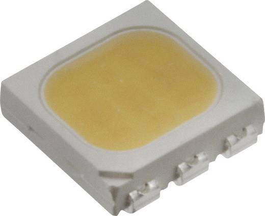 Everlight Opto SMD-LED PLCC6 Warm-wit 5500 mcd 120 ° 20 mA 3.25 V