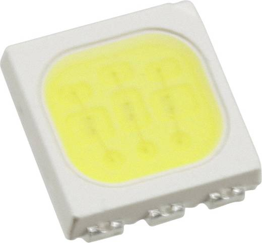 Everlight Opto SMD-LED PLCC6 Koud-wit 6100 mcd 120 ° 20 mA 3.25 V