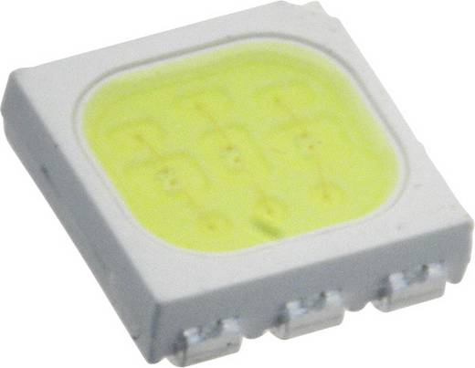 Everlight Opto SMD-LED PLCC6 Koud-wit 5900 mcd 120 ° 20 mA 3.25 V