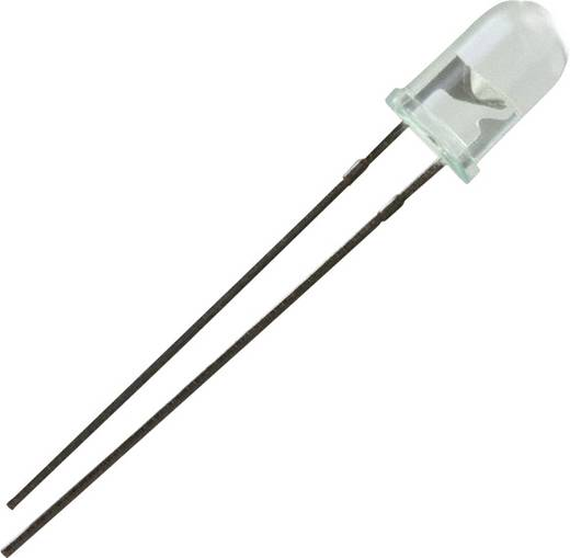 Everlight Opto LED bedraad Groen Rond 5 mm 150 mcd 24 ° 30 mA 2.2 V