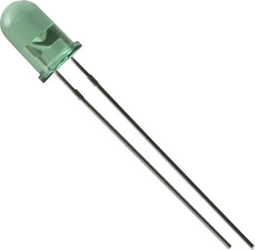 Everlight Opto LED bedraad Groen Rond 5 mm 25 mcd 35 ° 30 mA 2.2 V