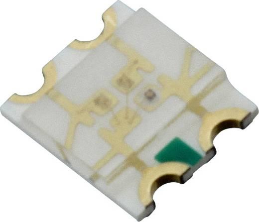 Dialight SMD-LED 3225 Rood, Groen, Blauw 60 mcd, 120 mcd, 90 mcd 140 ° 20 mA 2 V, 3.2 V