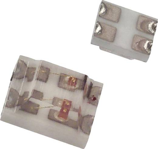 Dialight SMD-LED SMD-4 Groen, Rood 12 mcd, 4 mcd 170 ° 20 mA 2 V