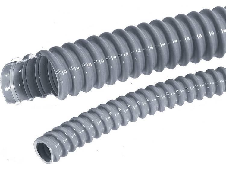 LAPP 61747370 SILVYN® EL 12x16,6 SGY Beschermslang (ribbelslang) Zilver-grijs (RAL 7001) 12 mm 10 m