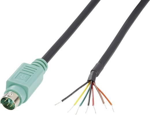 BKL Electronic 204093 Miniatuur DIN-connector Stekker, recht Aantal polen: 6 Groen 1 stuks