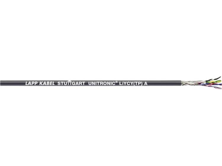 LappKabel 0066262 Datakabel UNITRONIC® LiYCY (TP) A 2 x 2 x 0.75 mm² Grijs 305 m
