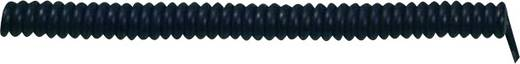 LappKabel 73222348 Spiraalkabel X05VVH8-F 500 mm / 1500 mm 5 x 1.50 mm² Zwart 1 stuks