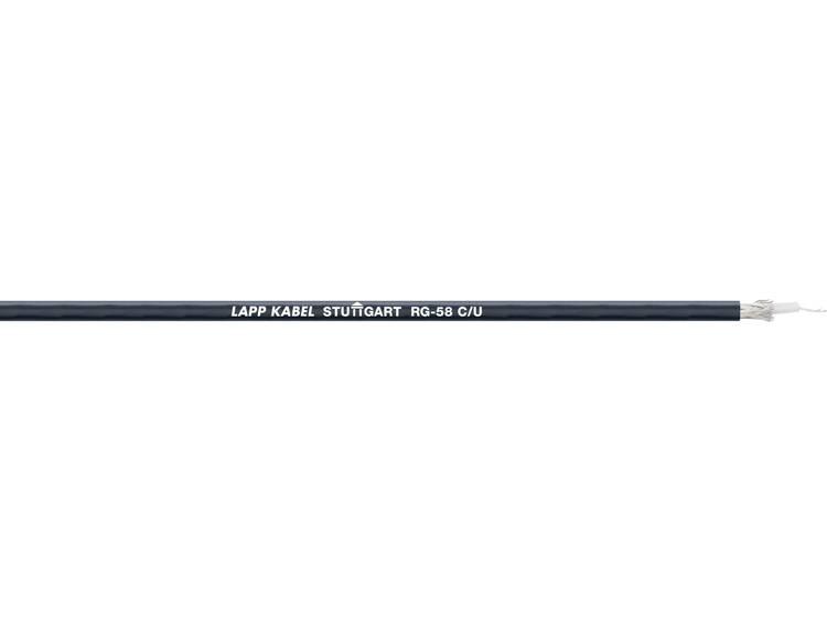 Coaxkabel Unitronic RGB geschikt voor de industrie Zwart 500 m LappKabel