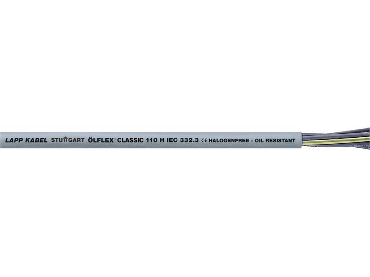 LappKabel 10019963 Stuurkabel Ã-LFLEX® CLASSIC 110 H 4 G 1 mm² Grijs 50 m