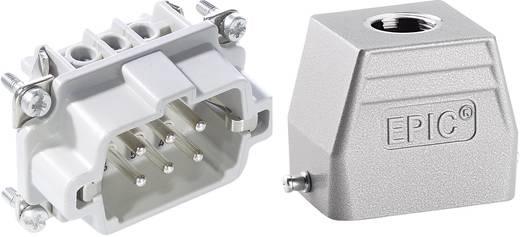 LappKabel 75009635 Stekkerverbinder-set EPICKIT H-BE 6 6 + PE Schroeven 1 set