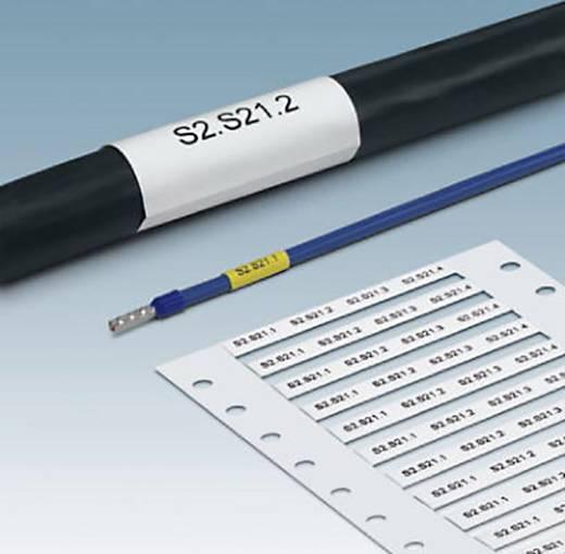 Krimpkousmarkering Montagemethode: Schuiven Markeringsvlak: 30 x 9 mm Geel Phoenix Contact WMS 4,8 (30X9)R YE 0800409 A