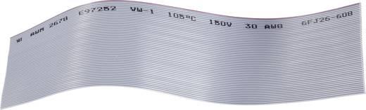 BKL Electronic 1505060 Lintkabel Rastermaat: 0.635 mm 50 x 0.05 mm² Grijs Per meter