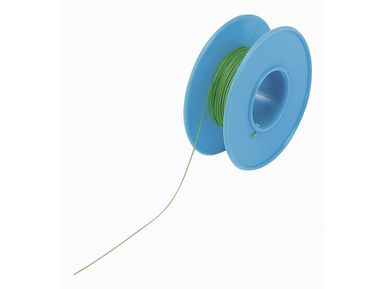 Conrad Components 606701 Wire-wrap-draad Wire Wrap 1 x 0.05 mm² Groen 15 m