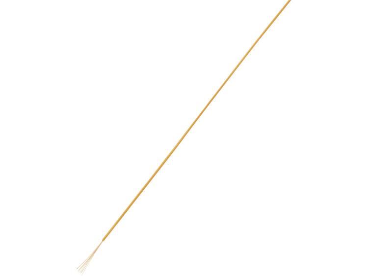 TRU COMPONENTS 1567807 Draad LiFY 1 x 0.25 mm² Oranje 50 m