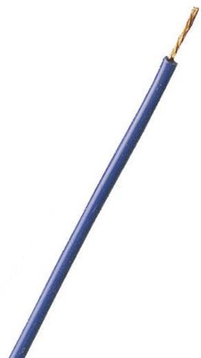 Stäubli 61.7551-00123 Draad SILI-E 1 x 0.25 mm² Blauw Per meter