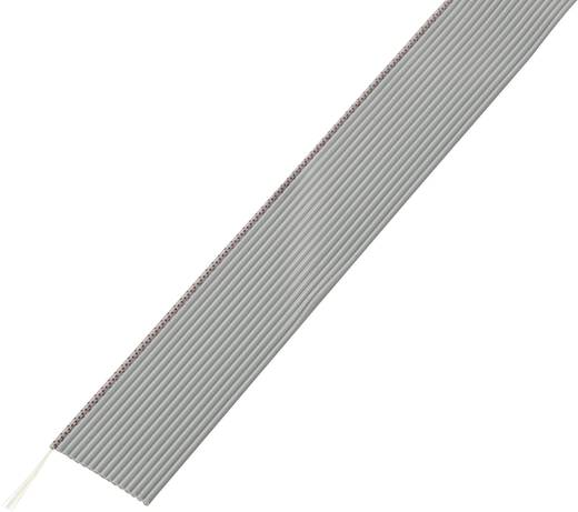 Conrad Components SH1998C199 Lintkabel Rastermaat: 1.27 mm 14 x 0.035 mm² Grijs 30.5 m