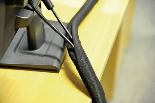 Gevlochten slang, zelfsluitend Bundelbereik-Ø: tot 25 mm SILVYN SNAP PET 25 BK LappKabel Inhoud: 2.5 m