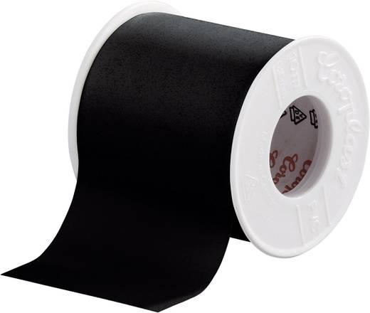 Coroplast PVC-plakband Zwart (l x b) 10 m x 50 mm Acryl Inhoud: 1 rollen